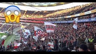 eintracht frankfurt vs vfb stuttgart fangesnge   gsteblock   fans