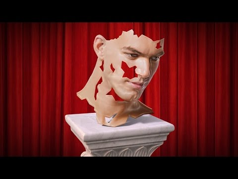 Photoshop Tutorial: How to Transform a Photo into a Life-Mask Sculpture Bust