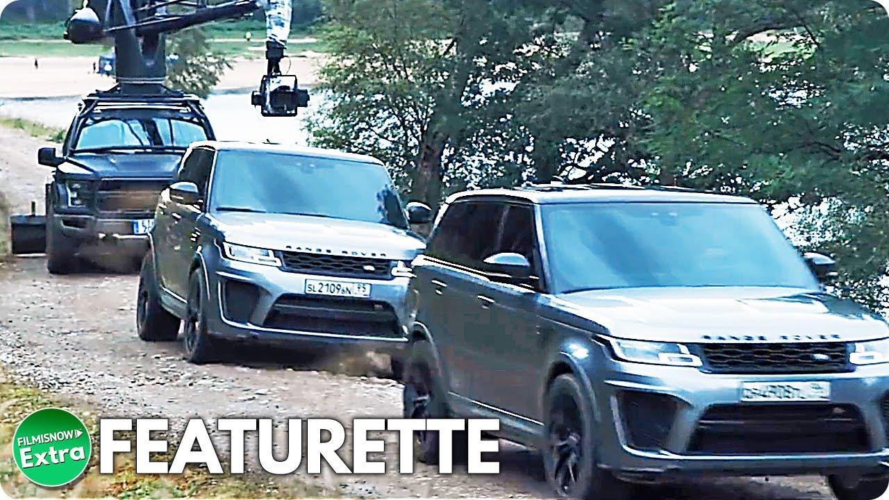 NO TIME TO DIE | Range Rover Stunts Featurette