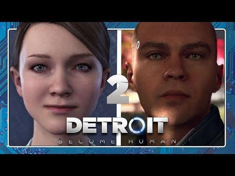 DETROIT: BECOME HUMAN #2: Die Androiden Kara & Marcus