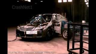 2010 Toyota Camry | Side Crash Test | CrashNet1