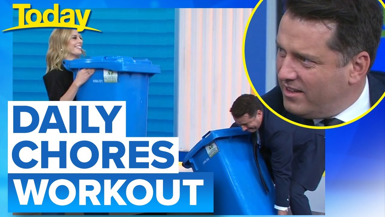 Ally dominates 'incidental fitness' workout | Today Show Australia