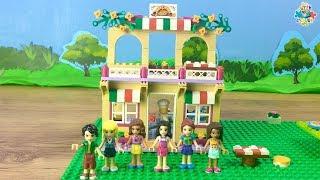 Lego Friends: Épül Emma pizzériája