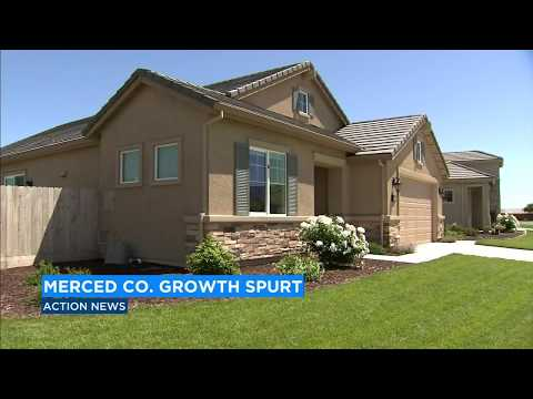Merced is California's fastest growing county