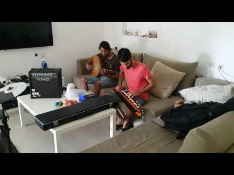 Bulbul Tarang (indian banjo) & Oud - Imi Imi - jam session