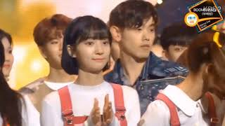 Stray Kids (스트레이키즈) x Twice (트와이스) Cut @Music Bank Ending Stage