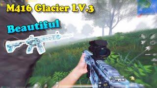 PUBG Mobile   M416 Glacier LV 3 Solo Squad 20 Kill Top 1 - Very Beautiful