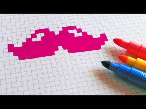 Handmade Pixel Art How To Draw Pixelart Youtube