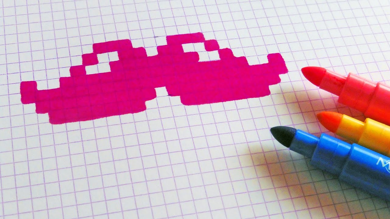 Handmade Pixel Art How To Draw Pixelart