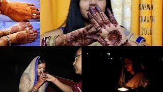 Karwa Chauth vlog 2018 || kaise manaya maine karwa chauth || Real Indian Home & Kitchen vlogs 2018.