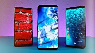 Samsung Galaxy S8 & Note 8 Video LockScreen Update Review!