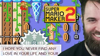 This Person Completely LOST THEIR MIND From Playing This Level [SUPER MARIO MAKER 2]
