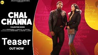 Chal Channa Teaser    Riya Mavi    Rishabh Dedha    Mayank Mavi    Valentine Song    Apna Up Culture