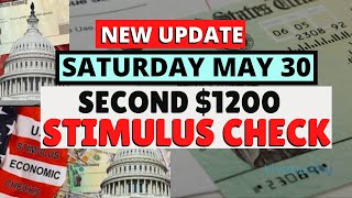 NEW Second Stimulus Package Update May 30: Senate JUST RELEASED $1200 Second Stimulus Check Timeline