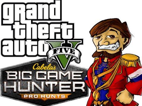 Live 14/04/2015 Big Game Hunter [1/2] & GTA 5 [1/3] Bob Lennon