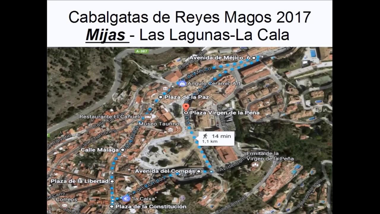 Cabalgatas de reyes magos 2017 Mijas Pueblo Las Lagunas La Cala