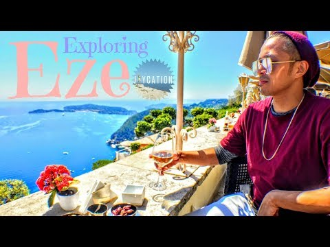 THINGS TO DO in the Medieval Town of Eze France | TRAVEL GUI