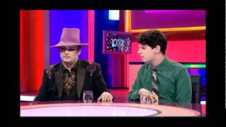 Boy George and Milo debate Gay Marriage
