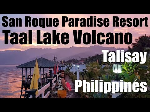 Taal Volcano Lake, San Roque Resort Philippines