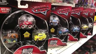 Disney Cars Toy Hunt - WE FINALLY FOUND White Walled Lightning McQueen & Fishtail Mini Racers 😄😜🤪🤗