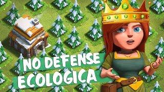 CONSTRUINDO UMA VILA NO DEFENSE #4 | LAYOUT ECOLÓGICO [ CLASH OF CLANS ]