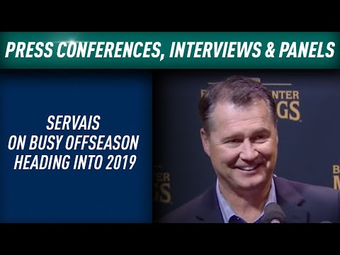 Servais on Mariners' busy offseason heading into 2019