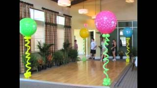 оформление зала шарами(оформление зала шарами Сайт: http://vsharm.myinsales.kz Компания