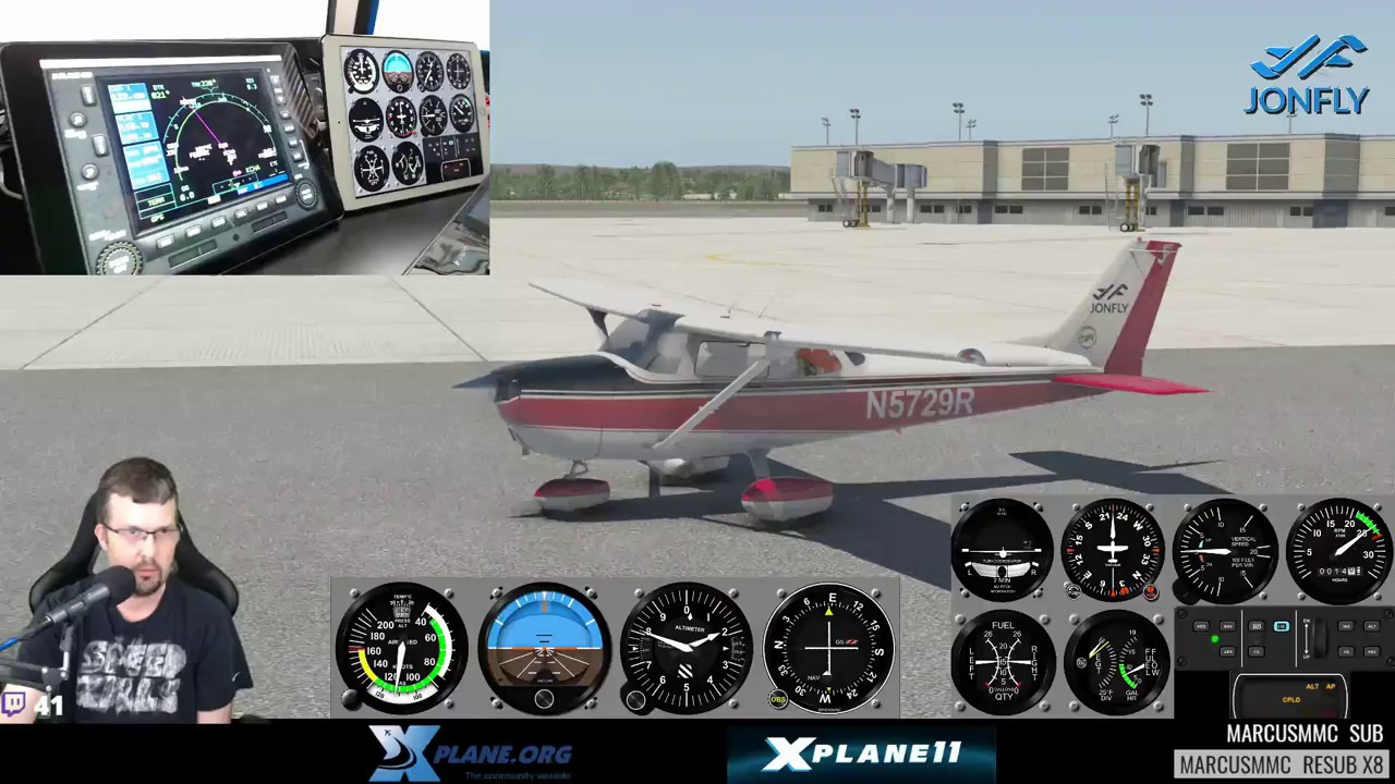 X-Plane GNS530 on an iPad - Flight Instruments on 2nd iPad using Air  Manager (IOS)