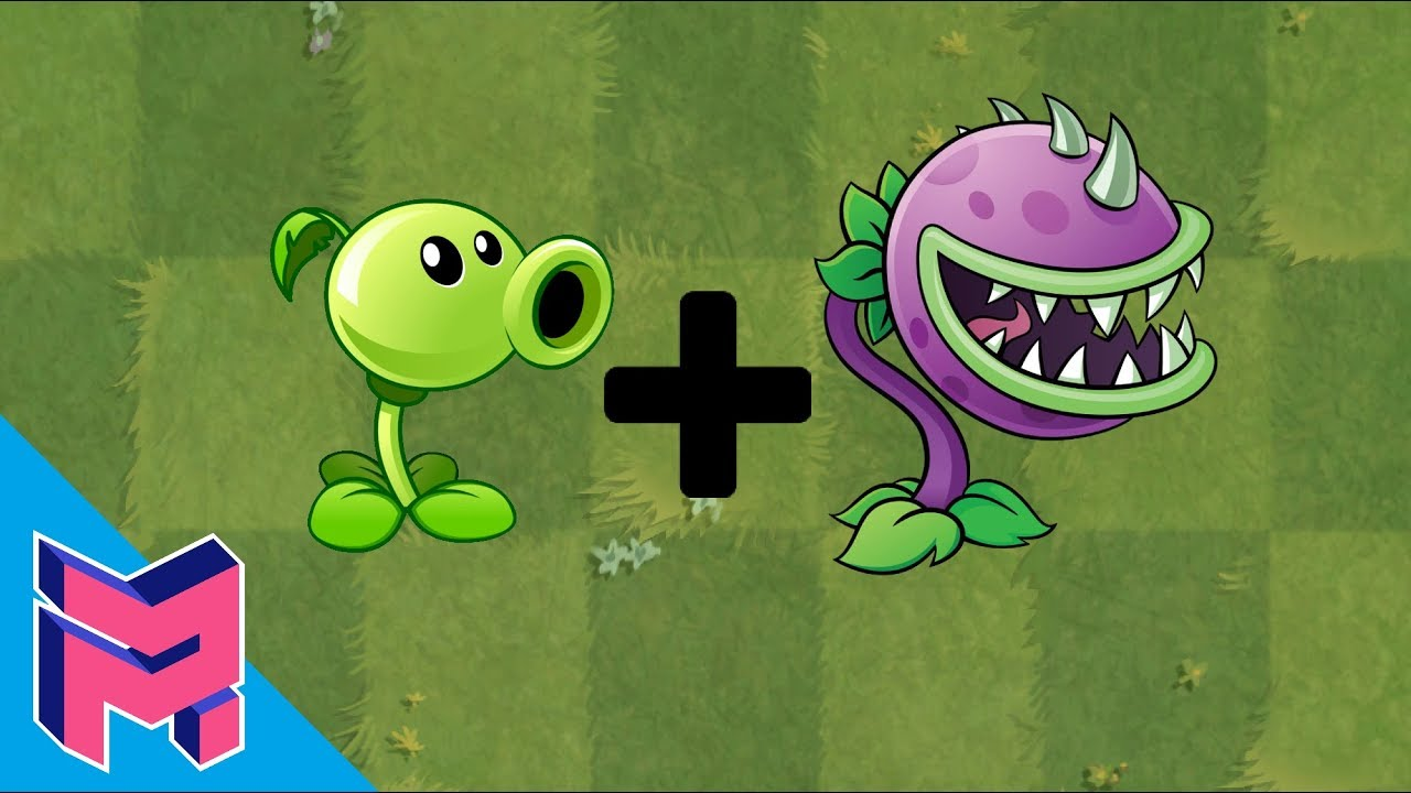 Plants vs Zombies Fusion Hack Animation ( Peashooter ...