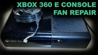 Faulty Xbox 360 E Console Repair - Dead Cooling Fan Replacement Guide (Car Boot Sale Pickup)