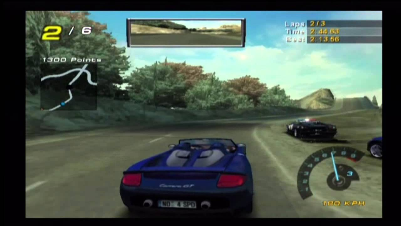 Video 300 Nfs Hot Pursuit 2 Gamecube Gameplay Youtube