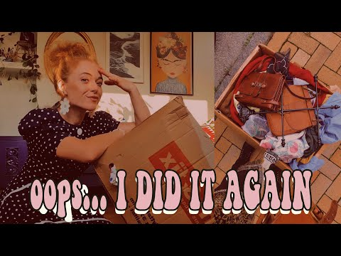 I Bought A Box Of Vintage Clothes Without Seeing It First