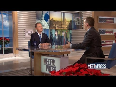 Rep. Schiff Discusses His Plans for the House Intelligence Committee on NBC Meet the Press