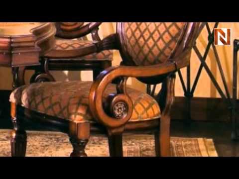 Villa Veneto Uphol Arm Chair 427-08 by Fairmont Designs