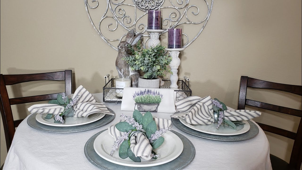 2020 Spring Home Decor Haul Hobby Lobby Homegoods Ross Plus Tablescape And Centerpiece Ideas Youtube