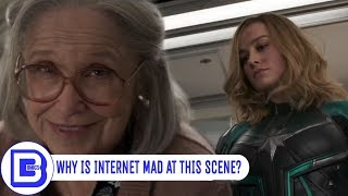 Why Did Captain Marvel Punch Old Lady | Explained In Hindi | BlueIceBear