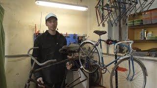 Как отмыть старый велосипед. Детейлинг.