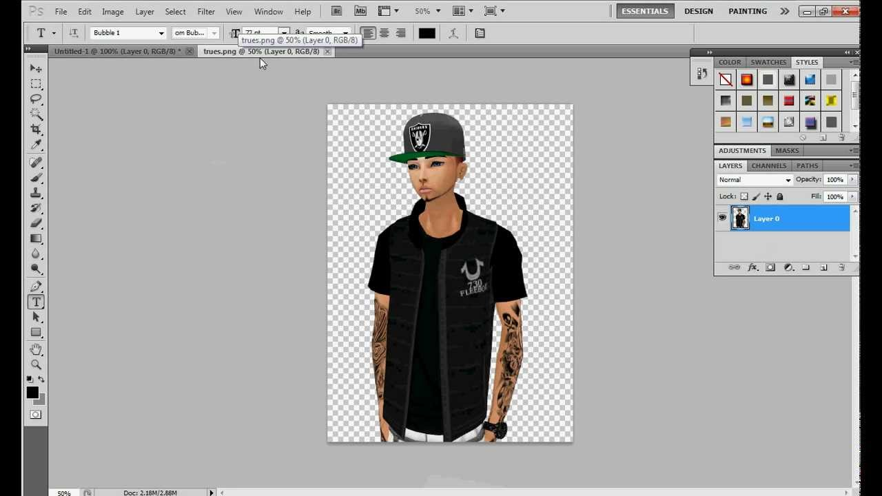 How to change avatar on imvu