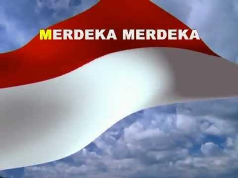 Lagu Indonesia Raya dengan teks  YouTube