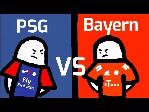 Bayern X Psg Mini Supremo Youtube