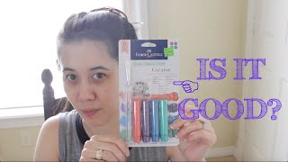 Is it Good?  Faber Castell Gelatos First Impressions