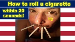 Perfect Rolling, learn h๐w to roll a cigarette fast and easy