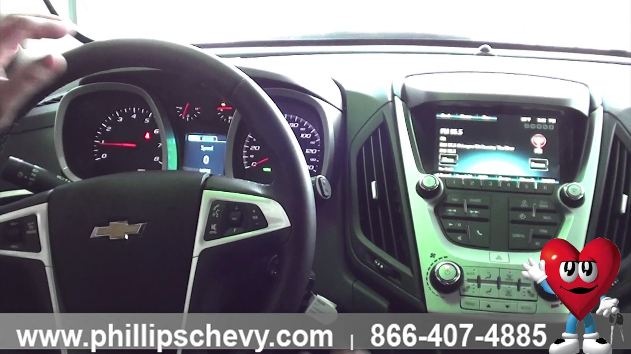 Phillips Chevrolet 2017 Chevy Equinox Lt Interior Chicago New Car Dealership
