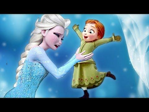 Elsa Frozen 2 Cuidando Del Bebé De Ana Juegos Infantiles