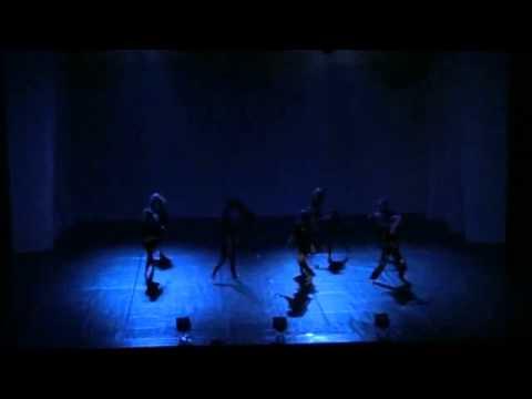 Choreografia pt  Ocalenie w wykonaniu grupy tańca jazzowego z Saltrom  u grudzień 2010