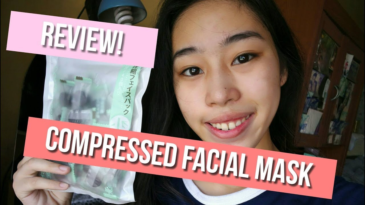 Miniso Compressed Facial Mask Review Patricia Teodoro
