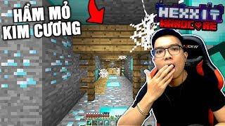 HẦM MỎ KIM CƯƠNG TRONG MINECRAFT (Minecraft Hexxit Siêu Khó #2)