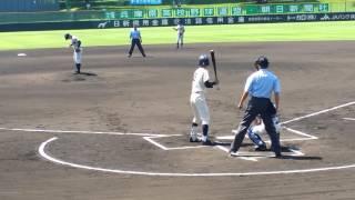 2015年 7/25 高校野球兵庫夏大会 明石商vs育英戦.