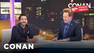 Full #ConanMexico Interview With Diego Luna