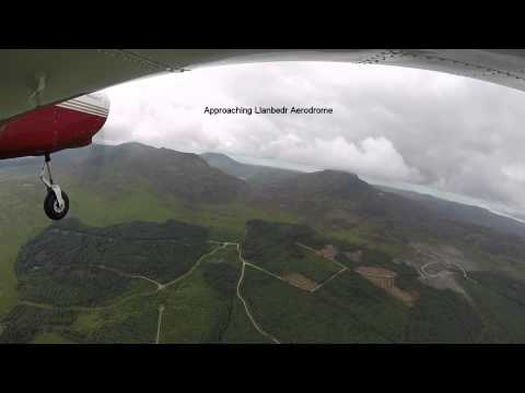 City Airport Manchester to Llanbedr Aerodrome, Wales